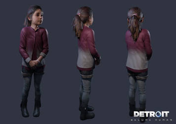 Detroit: Become Human - Alice by DaxProduction