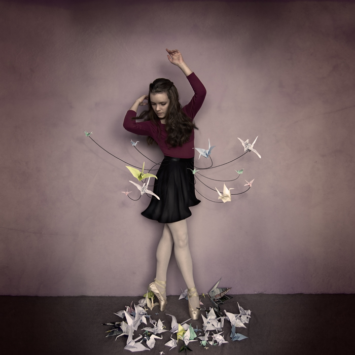 A thousand paper cranes by LauraBallesteros