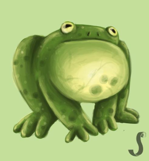 A frog by Johann-D