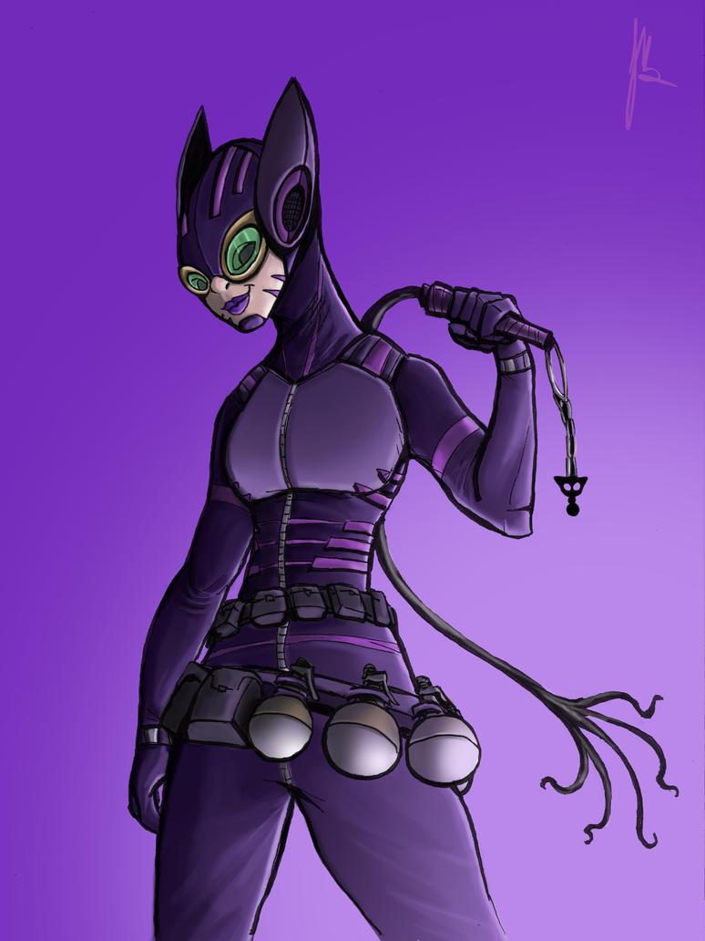 Catwoman by Johann-D