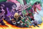 Steven Universe - Fusions