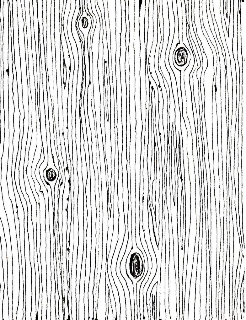 Drawn Wood Grain Texture by german-popsicle