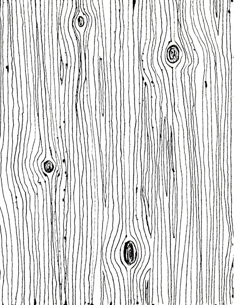 Drawn Wood Grain Texture by  Wood Grain Pattern