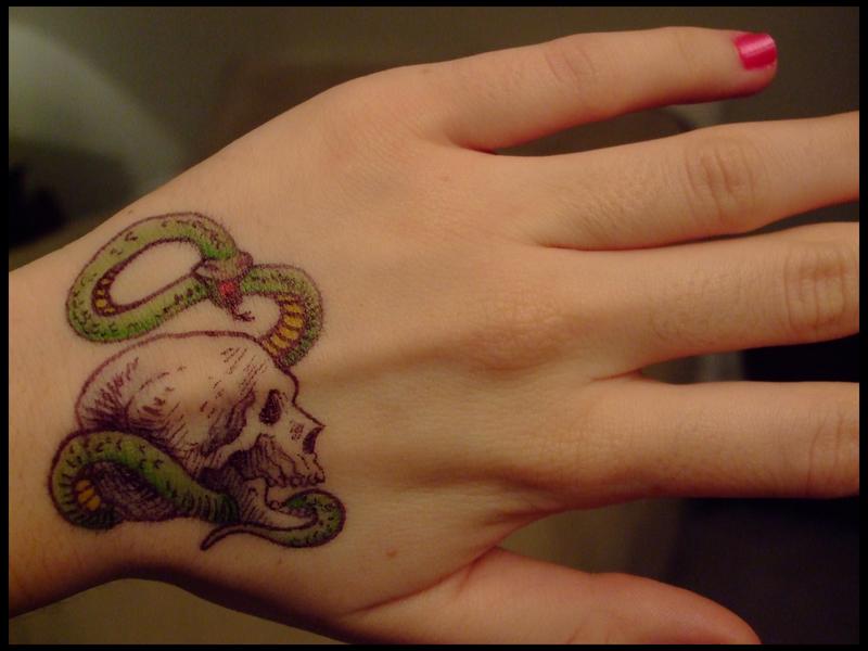 New dark mark sharpie tattoo by dablurart on deviantart for Sharpie tattoo designs