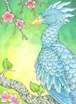 Blue Phoenix by DablurArt