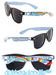Rainbow Dash Sunglasses by DablurArt