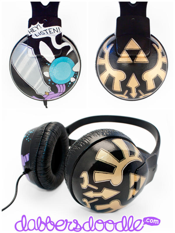 Navi Headphones by DablurArt