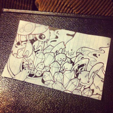 Zerg Doodle by DablurArt