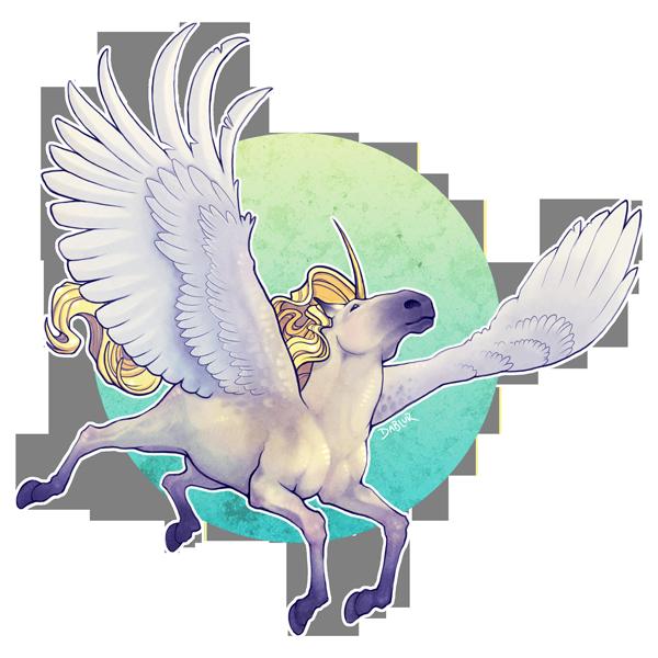Uniek Alicorn Trade by DablurArt
