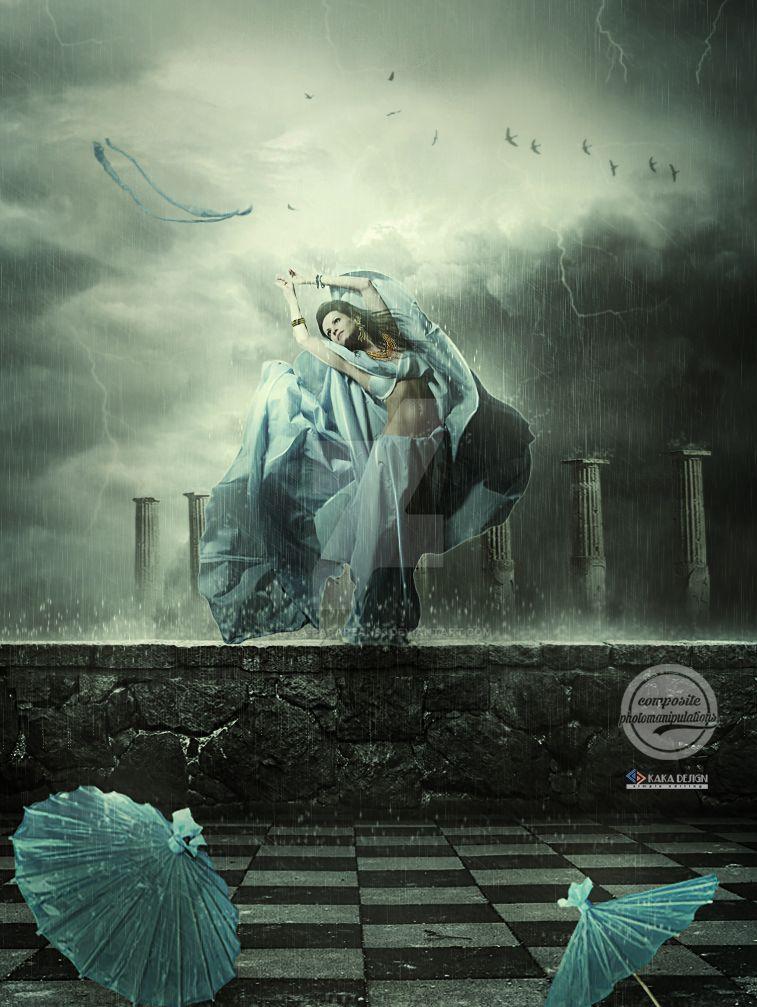 in The Rain by kaka-pararean83