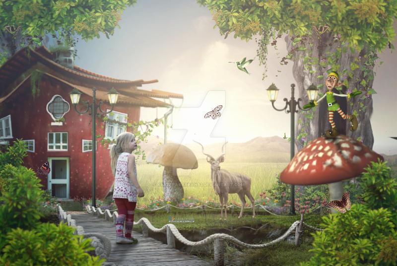 Fantasy house fruite