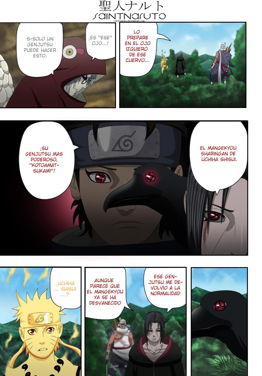 Naruto 550 : Kotoamatsukami by saintnaruto