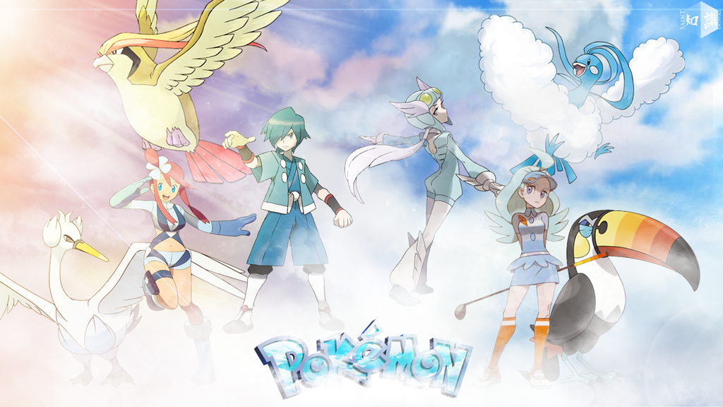 photo collection flying type pokemon trainers