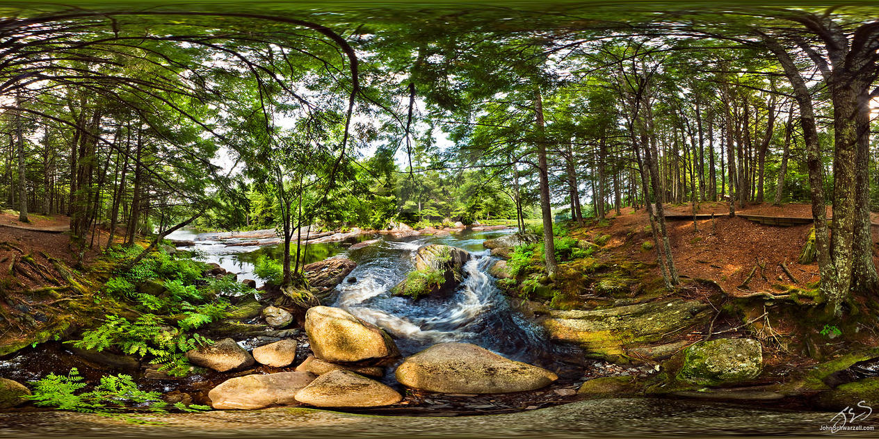 Mills Falls at Kejimkujik by panopix