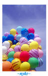 balonlarim var..