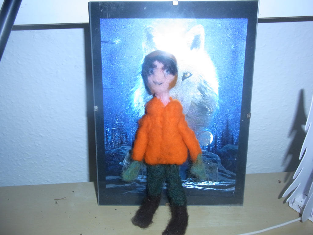 Do This Again: Needle felted PATW Peter doll 2.0 by ArcticIceWolf