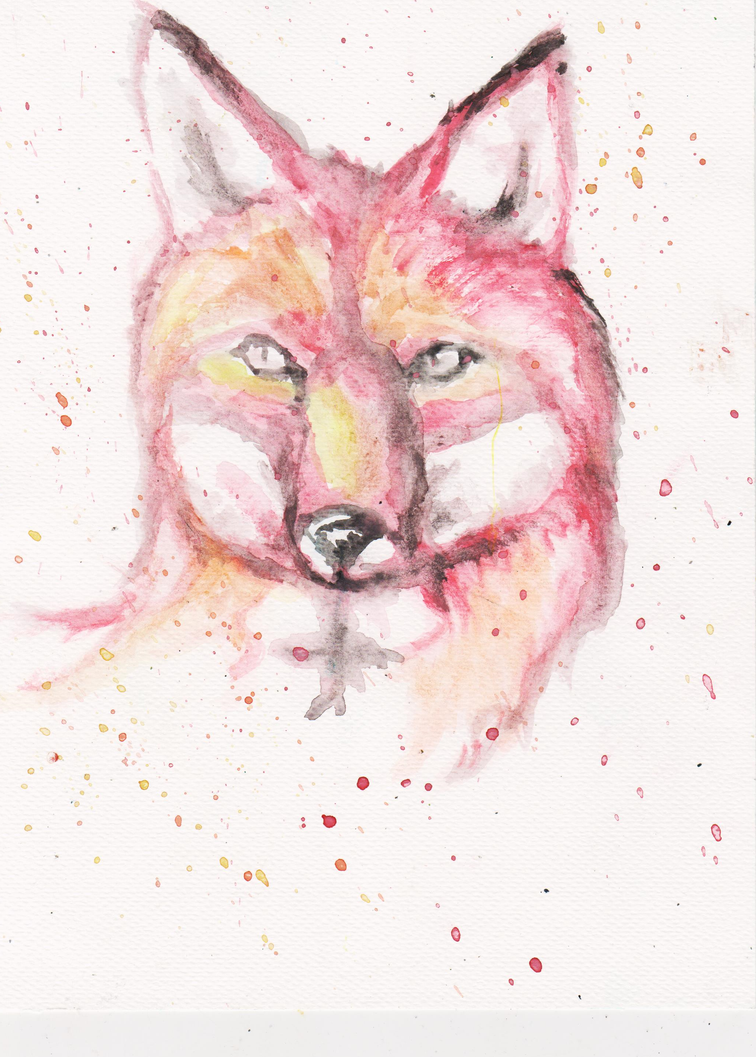 Fire Fox by ArcticIceWolf