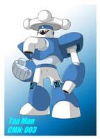 Mega Man '11': Tap Man by Rootay