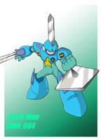 Mega Man '11': Knife Man by Rootay
