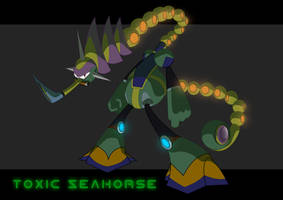 Toxic Seahorse - Rootay by Rootay