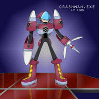 Crashman.EXE by Rootay