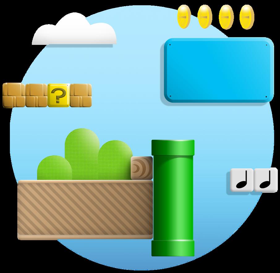 Platform Heritage - Super Mario by Rootay