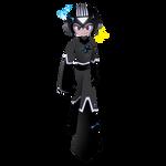 Black Lantern Mega Man by Rootay