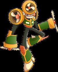 Turbine Man - Mega Man Eternal II by Rootay