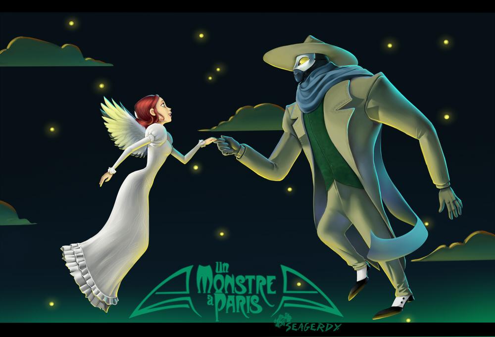 Un Monstre a Paris by SeaGerdy