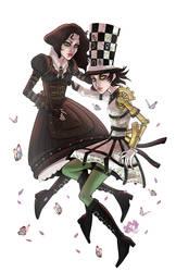 Alice: Steampunk Hattress by SeaGerdy