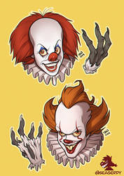 Clowns by SeaGerdy