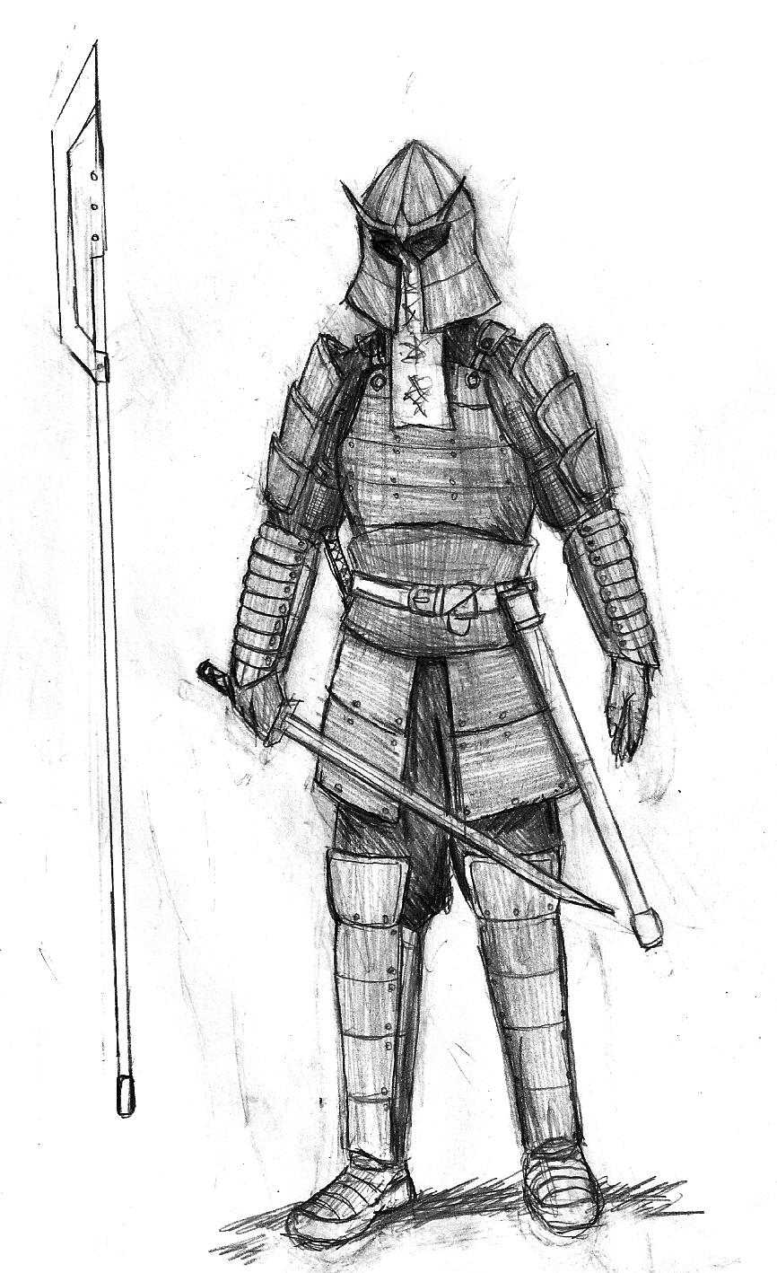 Warrior Of Darktown Sketch By Cookiemaniac23 On Deviantart
