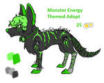 [OPEN] Monster Energy Themed Adoptable by IceyyTheSecondFurr