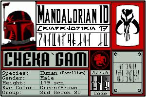 Mando ID by Cheka-Gam