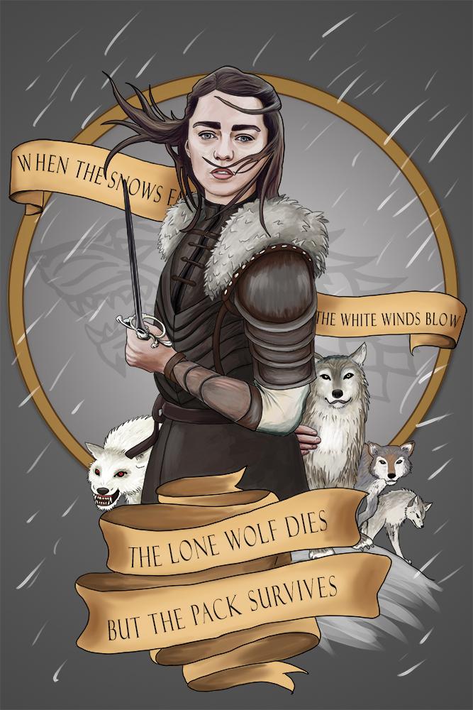 Arya Stark by GeekyNikki