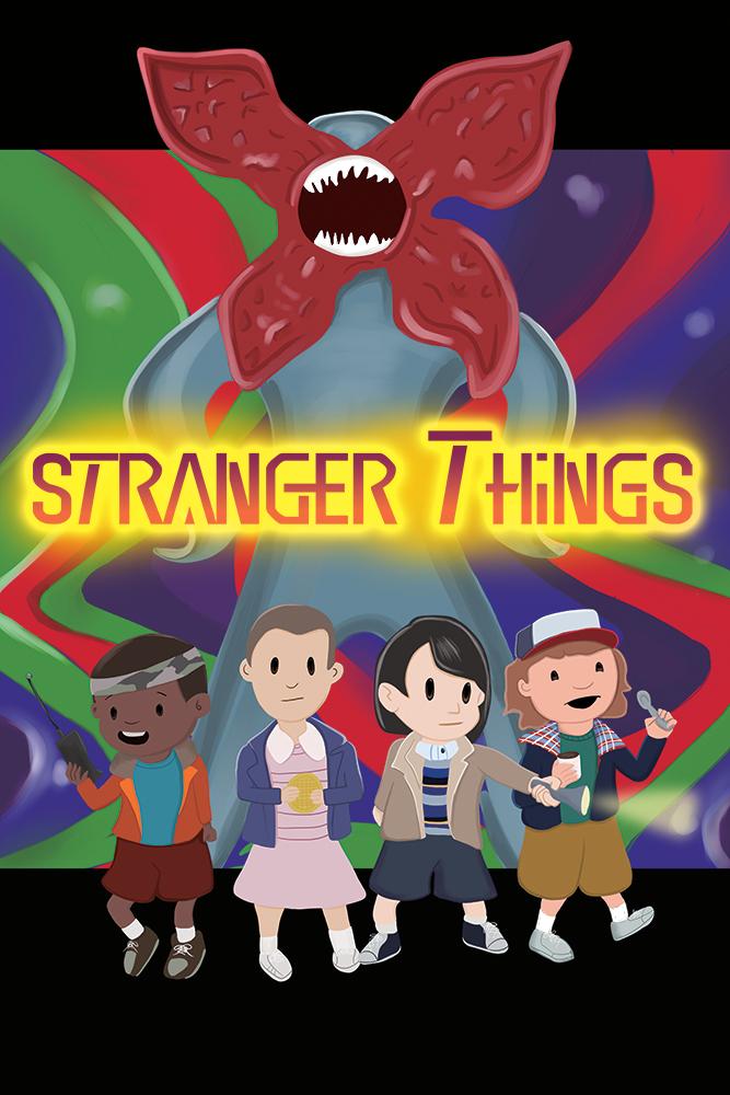 Stranger Things/Earthbound Mashup by GeekyNikki