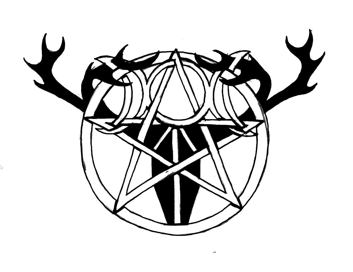 Pagan Symbols Drawings Pagan Tattoo Design by