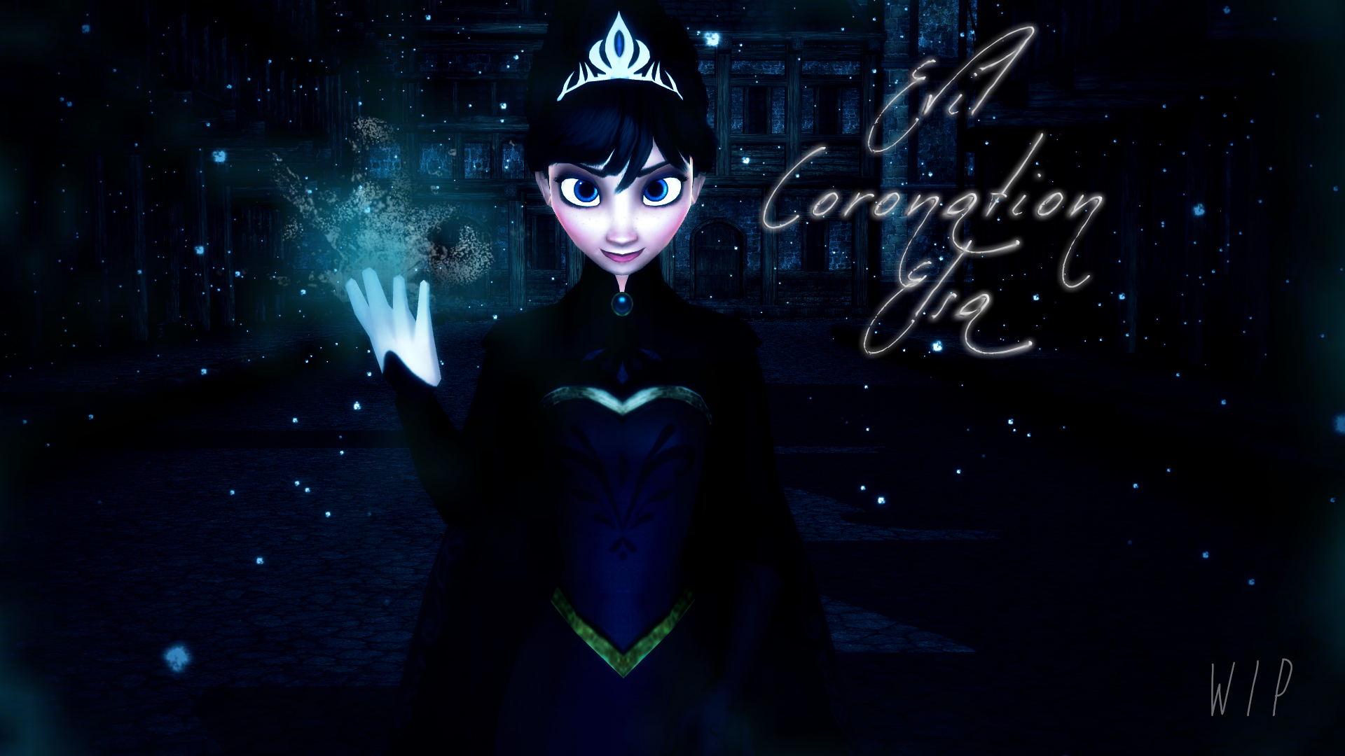 evil elsa edit by - photo #19