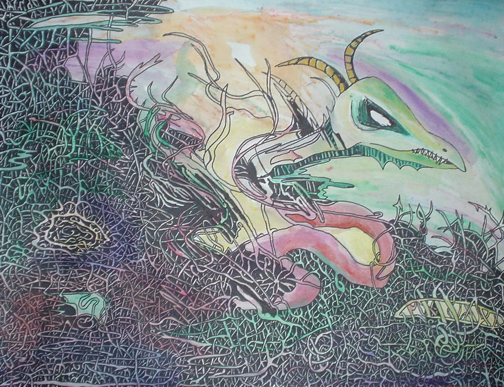 dragon's invocation by monts-et-forets