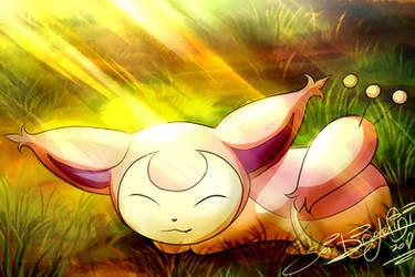 Warm Sunrays by Jei-Dinofelini