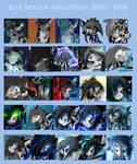 Jei's Design Evolution 2010 - 2018