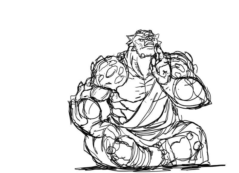 Ancient Earth Guru by Bersagliere