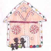 Gingerbread advent by MinorasPatchworkArt