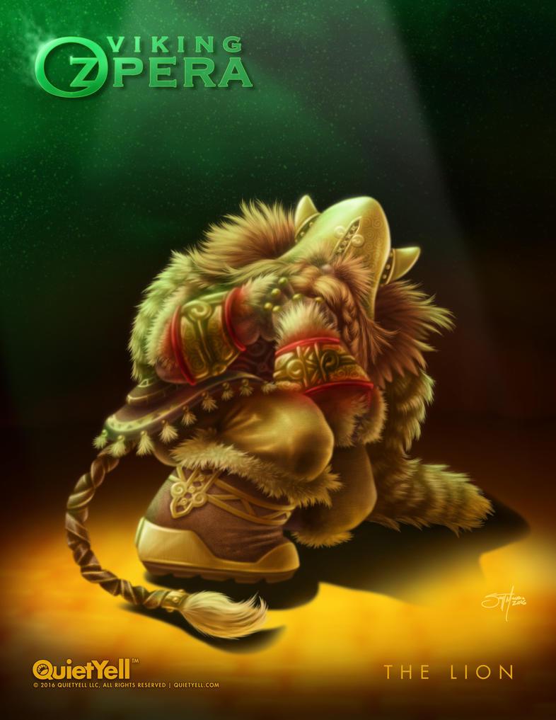 VIking OZpera : The Lion by ScottMonaco