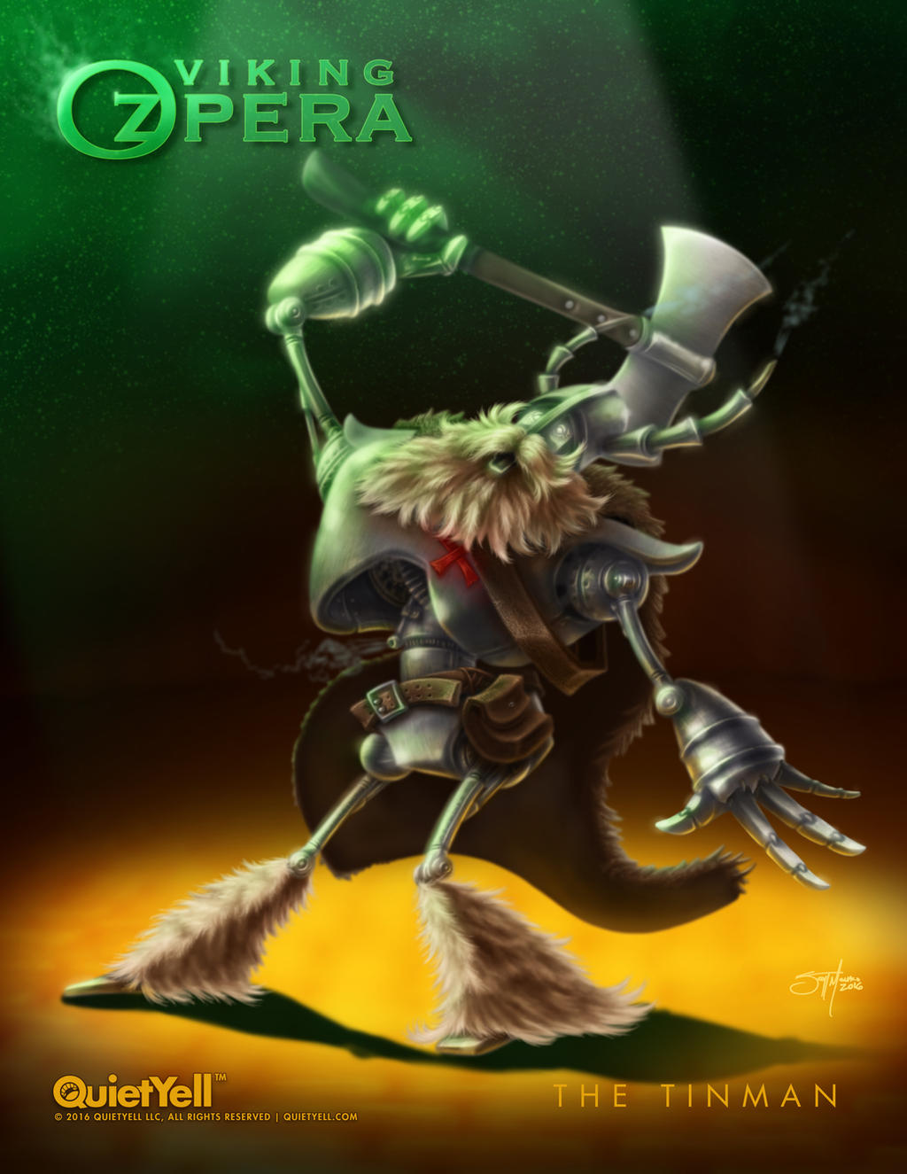 Viking OZpera : The Tinman by ScottMonaco