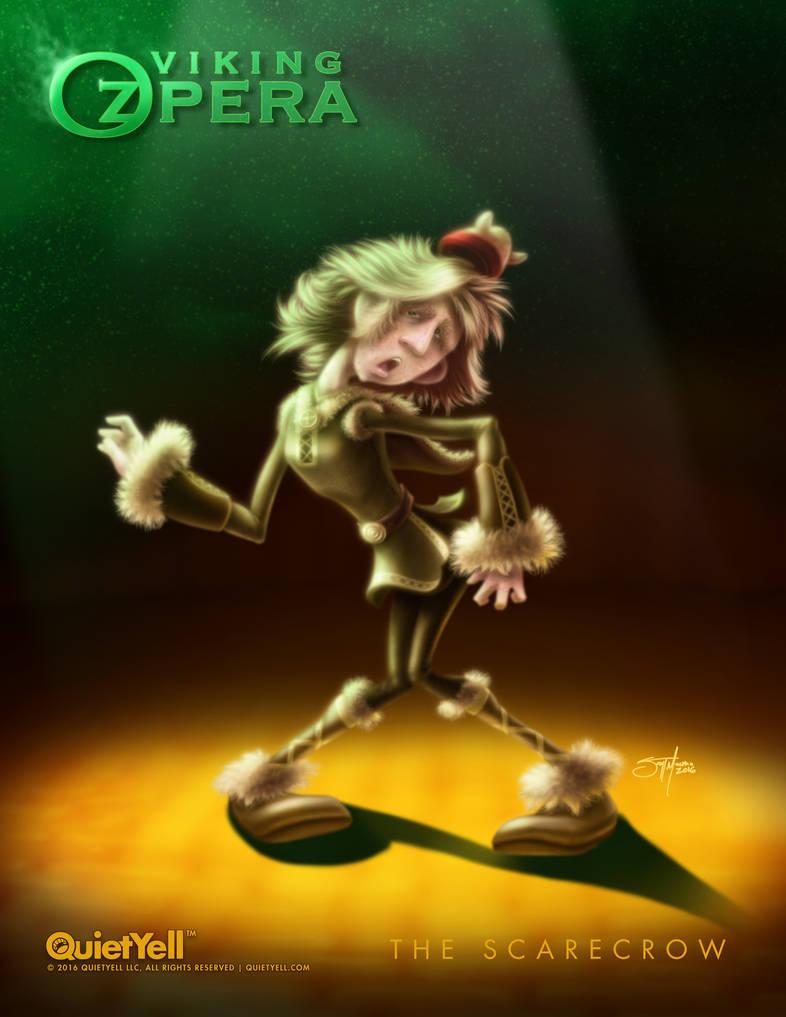 Viking OZpera : The Scarecrow by ScottMonaco