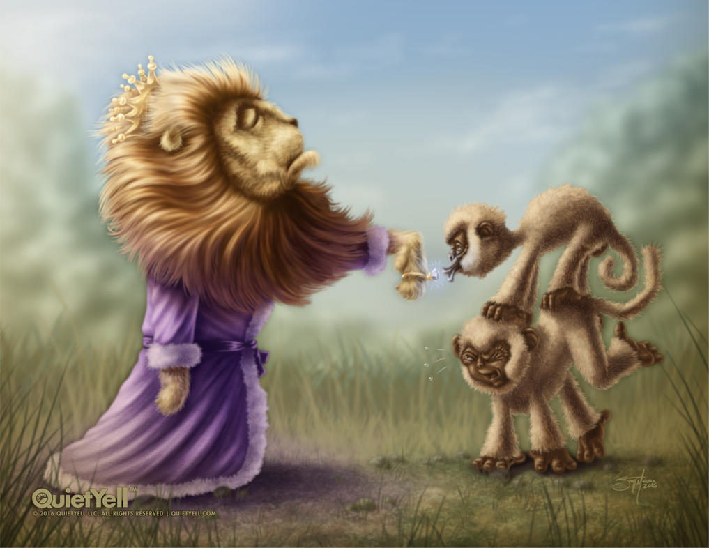 The Overly Lordly Lion by ScottMonaco