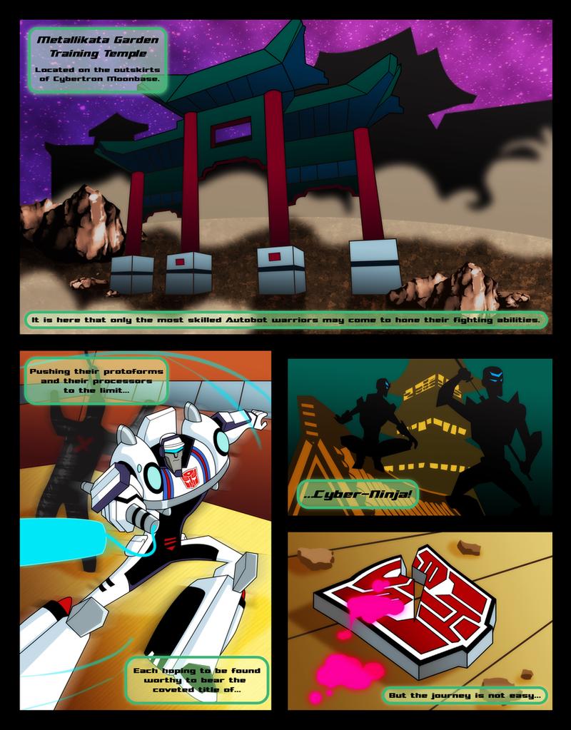 TFA Origins: Prowl - Page 1 by greenleafcm