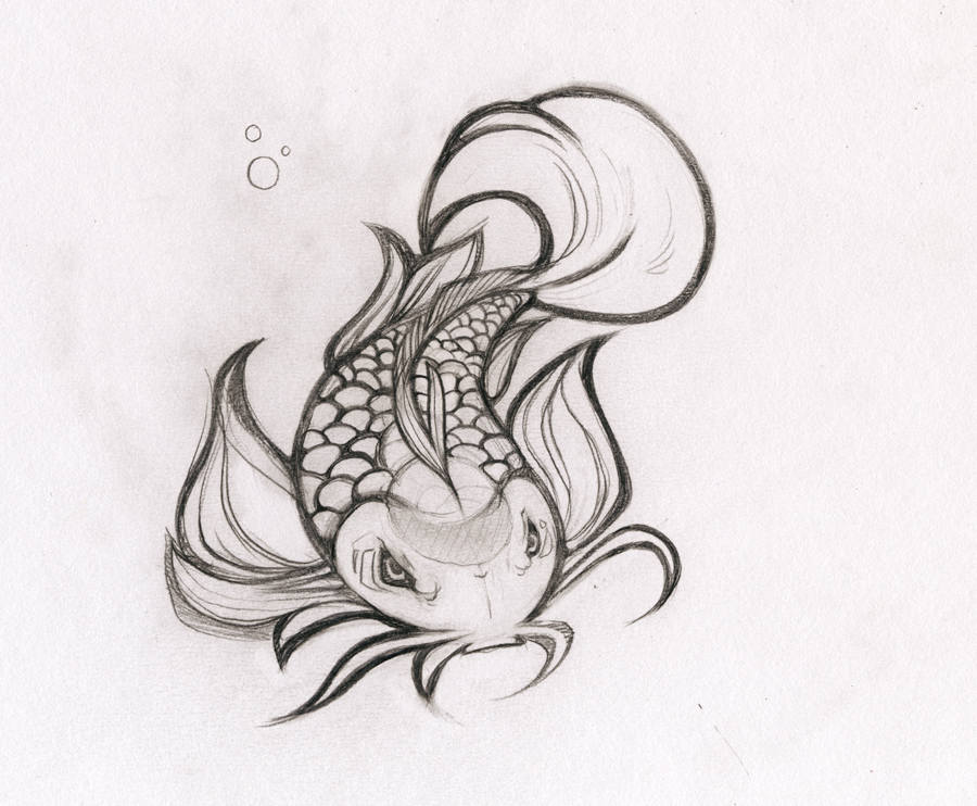 pencil fish by heavyteeth