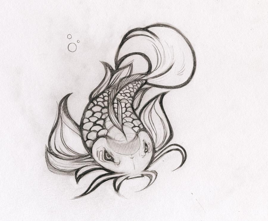 pencil fish by heavyteeth
